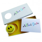 "Seifenkarte ""be happy"""